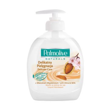 Palmolive mydło w płynie z dozownikiem do każdego typu skóry migdałowe 300 ml