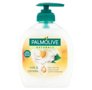 Palmolive Mydło w płynie z dozownikiem Milk & Camelia 300 ml