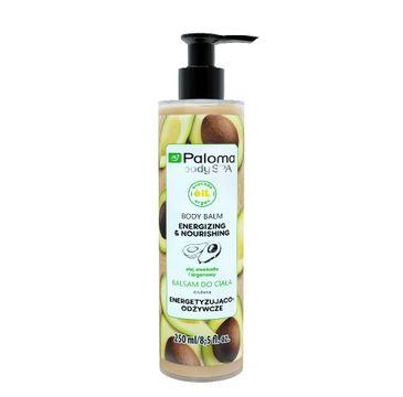 Paloma Body Spa balsam dokażdego rodzaju skóry energetyzująco-odżywczy 250 ml