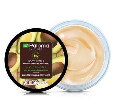 Paloma Body Spa masło do każdego typu skóry energetyzująco-odżywcze 300 ml