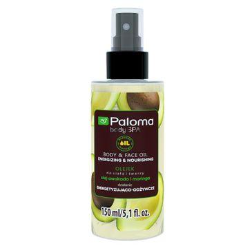 Paloma Body Spa olejek do ciała i twarzy energetyzująco-odżywczy 150 ml
