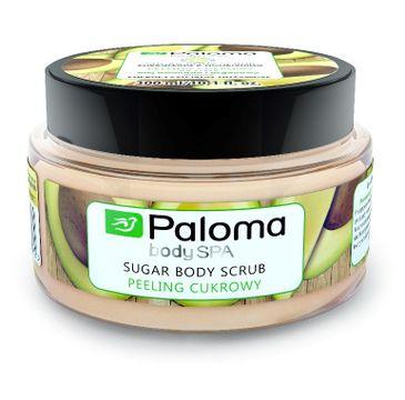 Paloma Body Spa peeling cukrowy do każdego typu skóry energetyzująco-odżywczy 300 ml