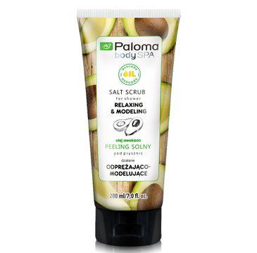 Paloma Body Spa peeling solny do każdego typu skóry odprężająco-modelujący 200 ml