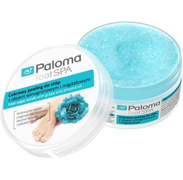 Paloma Foot Spa cukrowy peeling do stóp orzeźwiający 125 ml