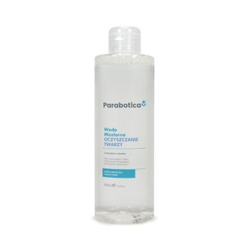 Parabotica Oczyszczanie twarzy woda micelarna z ekstraktem z bawełny 390ml