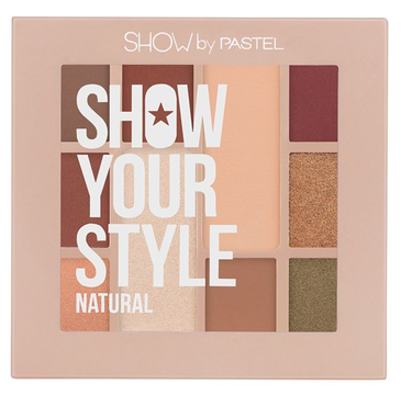 Pastel Show Your Style paleta cieni do powiek Natural