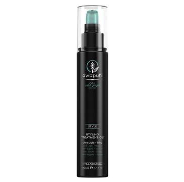 Paul Mitchell Awapuhi Styling Treatment Oil Ultra-Light stylizujące serum do włosów 150ml