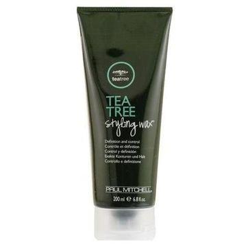 Paul Mitchell Tea Tree Styling Wax wosk do stylizacji włosów 200ml