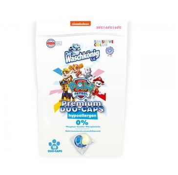 Paw Patrol Premium Duo-Caps Hypoallergen kapsułki do prania tkanin dla dzieci Sensitive Color (18 szt.)