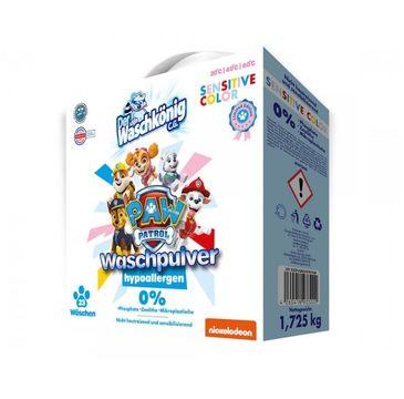 Paw Patrol Washing Powder Hypoallergen proszek do prania tkanin dla dzieci Sensitive Color (1.725 kg)