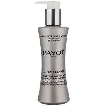 Payot Absolute Pure White Lotion Clarte rozÅ›wietlajÄ…cy tonik do twarzy (200 ml)