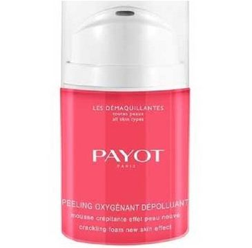 Payot Les Demaquillantes Peeling Oxygenant Depolluant pianka do mycia twarzy 40ml