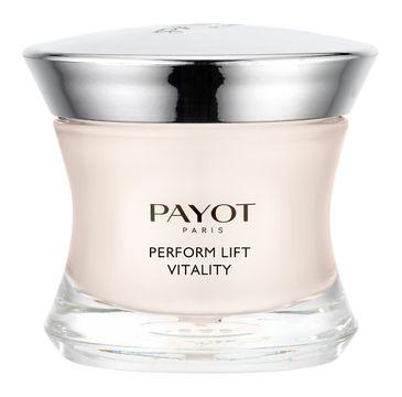 Payot Perform Lift Vitality Toning And Firming Care ujędrniający krem do twarzy 50ml