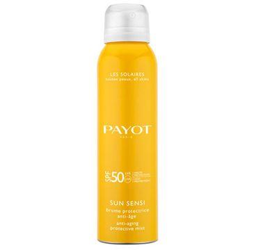 Payot Sun Sensi Brume Protectrice Anti - Age SPF50 spray przeciwstarzeniowy do twarzy 125ml