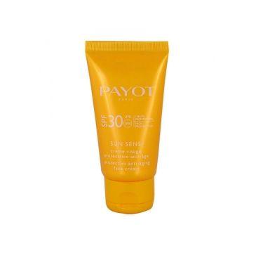 Payot Sun Sensi Creme Visage SPF30 przeciwstarzeniowy krem ochronny do twarzy 50ml