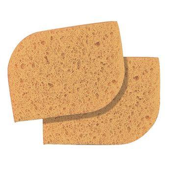 Peggy Sage Natural Cleasing Sponge naturalna gąbka do demakijażu 2szt