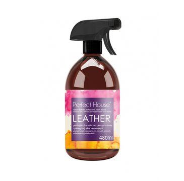 Perfect House Leather profesjonalne mleczko do czyszczenia skór naturalnych i syntetycznych 480ml