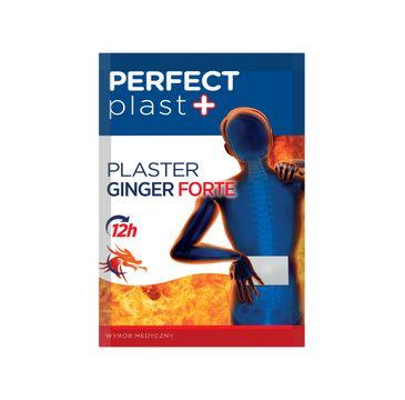 Perfect Plast – plaster rozgrzewający Ginger Forte 12x18 cm (1szt)