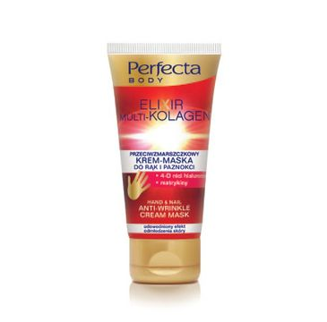 Perfecta Body Elixir Multi-Kolagen krem-maska do rąk przeciwzmarszczkowy 80 ml