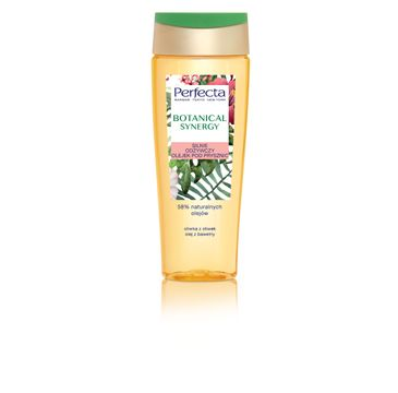 Perfecta Botanical Synergy silnie odżywczy olejek pod prysznic Oliwka z Oliwek i Olej z Bawełny 200 ml