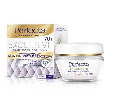 Perfecta Exclusive 70+ krem do twarzy przeciwzmarszczkowy nutri ujędrniający na dzień i noc 50 ml