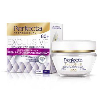 Perfecta Exclusive 80+ krem do twarzy przeciwzmarszczkowy multi regenerujący na dzień i noc 50 ml