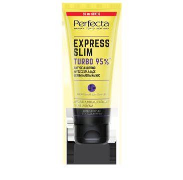 Perfecta Express Slim Turbo 95% antycellulitowo wyszczuplające serum-maska na noc