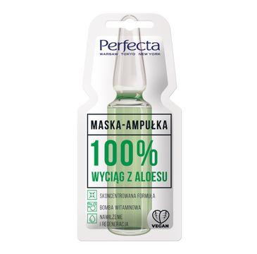 Perfecta – Maseczka Ampułka 100% wyciągu z aloesu (8 ml)