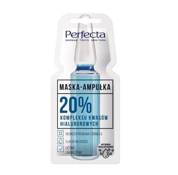 Perfecta – Maseczka Ampułka 20% kompleksu kwasu hialuronowego (8 ml)