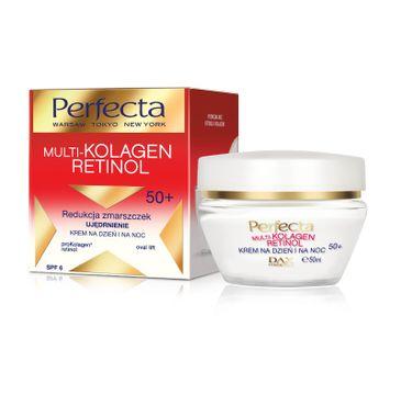 Perfecta Multi-Kolagen Retinol 50+ krem redukujący zmarszczki ujędrniający na dzień i noc 50 ml