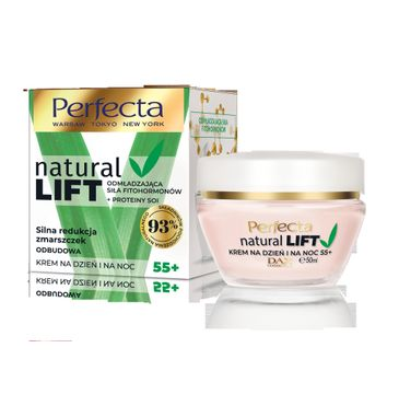 Perfecta – Natural Lift krem do twarzy na dzień i noc 55+ (50 ml)