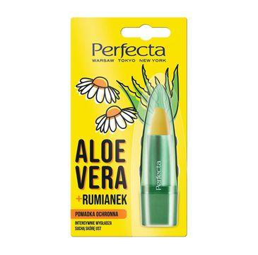 Perfecta Pomadka do ust Aloes i Rumianek (5 g)