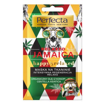 Perfecta Relaxed Jamaica Maska na tkaninie - intensywna regeneracja & relaks (20 ml)