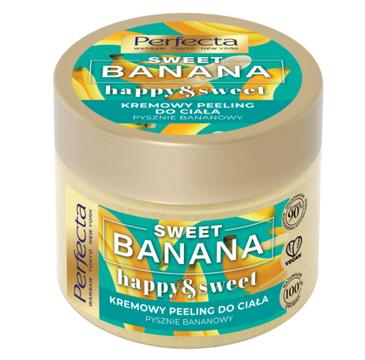 Perfecta Sweet Banana Kremowy Peeling do ciała - gruboziarnisty (300 g)