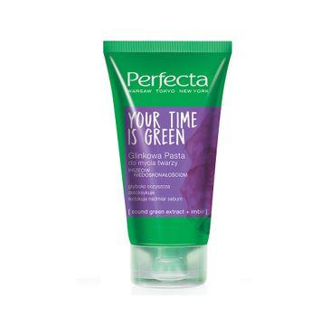 Perfecta Your Time Is Green glinkowa pasta do mycia twarzy przeciw niedoskonałościom 165g