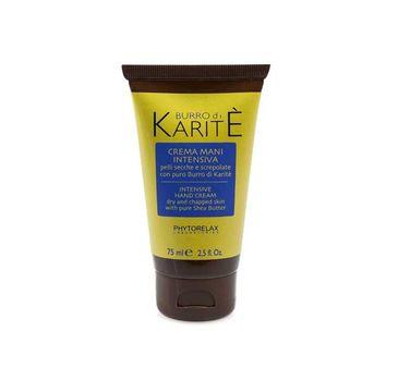 Phytorelax Burro Di Karite Crema Mani Intensiva Hand Cream krem do rąk 75ml