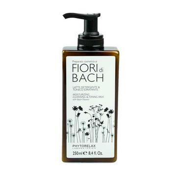 Phytorelax Fior Di Bach Moisturizing Cleansing & Toning Milk With Bach Flowers mleczko oczyszczające 250ml