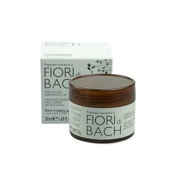 Phytorelax Fiori Di Bach 24H Moisturizing Face Cream With Bach Flower nawilżający krem do twarzy 50ml