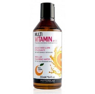 Phytorelax Multi Vitamin A+C+E Micellar Cleansing Water płyn micelarny 250ml