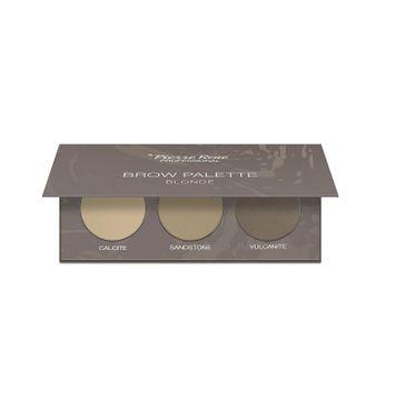 Pierre Rene – Brow Palette paletka cieni do brwi 01 Blonde (3 x 1.3 g)