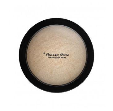 Pierre Rene – Highlighting Powder puder rozświetlający 01 Glazy Look (12 g)