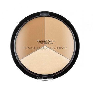 Pierre Rene – Powder Contouring pudrowa paleta do konturowania twarzy (23 g)