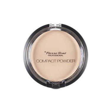 Pierre Rene Professional Compact Powder puder w kamieniu No 3 Transparent 8g