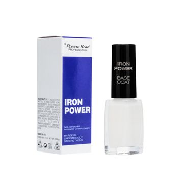 Pierre Rene Professional Nail Hardener preparat utwardzający do paznokci Iron Power 11ml