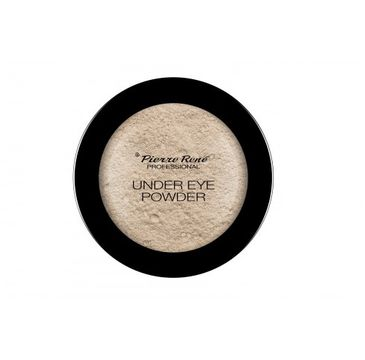 Pierre Rene – Under Eye Powder puder wygładzająco-rozświetlający pod oczy (4 g)