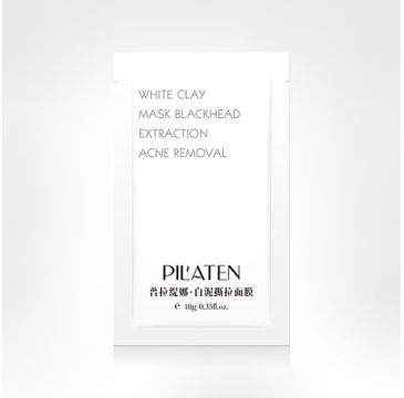 Pilaten Biała Maska Peel-of na twarz 10 g