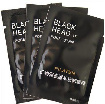 Pilaten czarna maska do każdego typu cery oczyszczająca 6 g