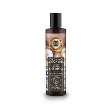 Planeta Organic Macadamia Szampon do włosów matowych i suchych 280ml