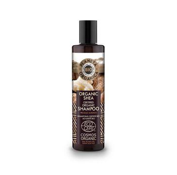 Planeta Organic Shea Szampon do włosów matowych i zniszczonych 280ml