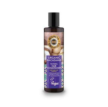 Planeta Organica Macadamia Balsam do włosów matowych i suchych  280ml
